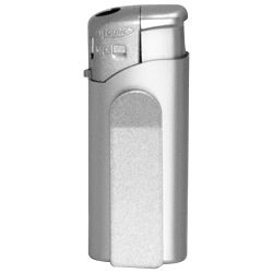 Upaljač elektronski Atomic Mini Clip srebrni!!