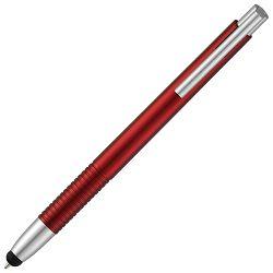 Olovka kemijska+touch pen crvena