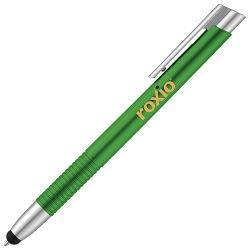 Olovka kemijska+touch pen zelena