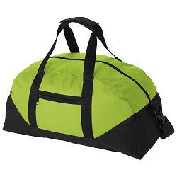 Torba sportska crno/svijetlo zelena