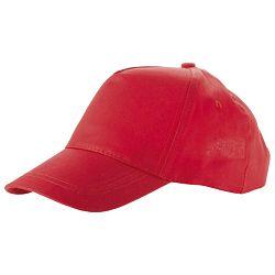 Kapa šilt dječja 5 panela crvena!!