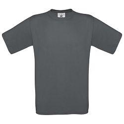 Majica kratki rukavi B&C Exact 150g tamno siva S!!