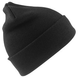 Kapa zimska Woolly crna