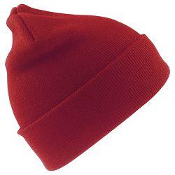 Kapa zimska Woolly crvena