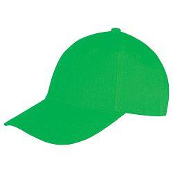 Kapa šilt 6 panela Memphis svijetlo zelena