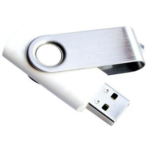 Memorija USB 16GB Twister bijela