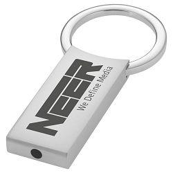 Privjesak za ključeve metalni srebrni