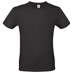 Majica kratki rukavi B&C #E150 crna L