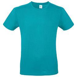 Majica kratki rukavi B&C #E150 tirkizna XL