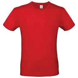 Majica kratki rukavi B&C #E150 crvena XS