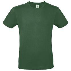 Majica kratki rukavi B&C #E150 tamno zelena L