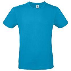 Majica kratki rukavi B&C #E150 atol plava L