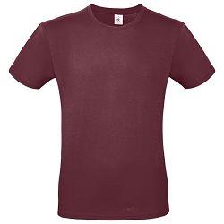 Majica kratki rukavi B&C #E150 bordo L