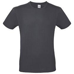 Majica kratki rukavi B&C #E150 tamno siva S