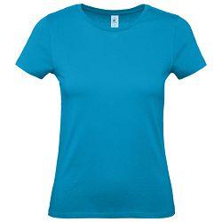 Majica kratki rukavi B&C #E150/women atol plava XL