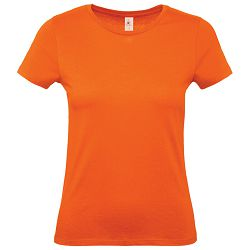 Majica kratki rukavi B&C #E150/women narančasta S