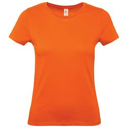 Majica kratki rukavi B&C #E150/women narančasta L