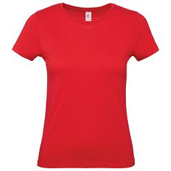 Majica kratki rukavi B&C #E150/women crvena S