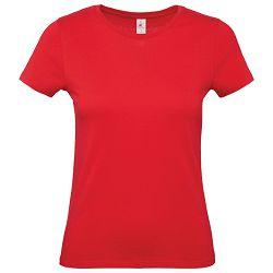 Majica kratki rukavi B&C #E150/women crvena M