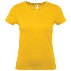 Majica kratki rukavi B&C #E150/women zlatna žuta M