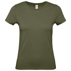 Majica kratki rukavi B&C #E150/women maslinasto zelena M