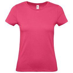 Majica kratki rukavi B&C #E150/women roza L