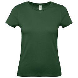 Majica kratki rukavi B&C #E150/women tamno zelena S