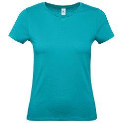 Majica kratki rukavi B&C #E150/women tirkizna XS