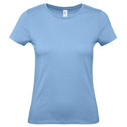Majica kratki rukavi B&C #E150/women nebo plava XL