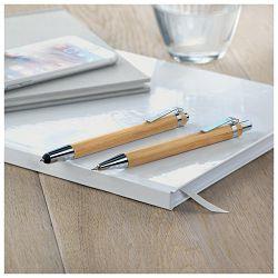 Garnitura olovka kemijska + olovka tehnička Midoceanbrands 811140 bambus