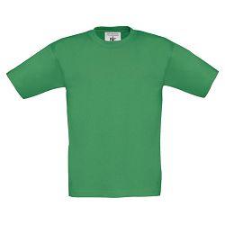Majica kratki rukavi B&C Exact Kids 150g trava zelena 7/8