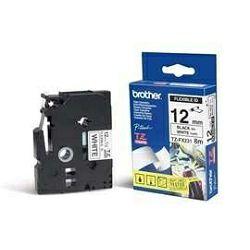 TZEFX231 Traka za oznacavanje -Crno na bijelo-12mm