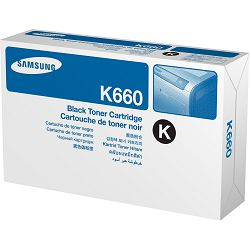 Samsung CLP-K660A Black Toner Cartrid