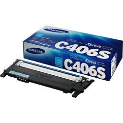Samsung CLT-C406S Cyan Toner Cartridg