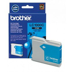 BROTHER LC-1000 LC1000 CYAN ORGINALNA TINTA