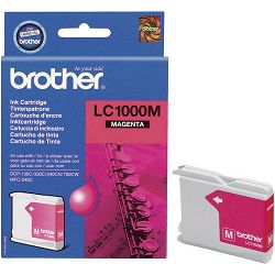 BROTHER LC-1000 LC1000 MAGENTA ORGINALNA TINTA