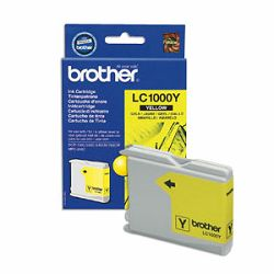 BROTHER LC-1000 LC1000 YELLOW ORGINALNA TINTA