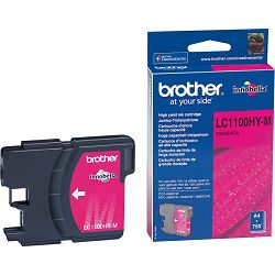 BROTHER LC-1100 LC1100XL  MAGENTA ORGINALNA TINTA