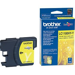 BROTHER LC-1100 LC1100XL  YELLOW ORGINALNA TINTA