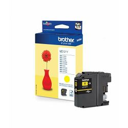 BROTHER LC-121 LC121  YELLOW ORGINALNA TINTA
