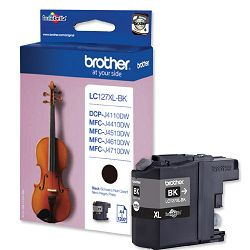 BROTHER LC-127 LC127XL  BLACK ORGINALNA TINTA