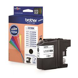 BROTHER LC-223 LC223  BLACK ORGINALNA TINTA