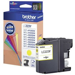 BROTHER LC-223 LC223  YELLOW ORGINALNA TINTA