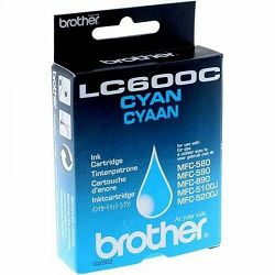 BROTHER LC-600 CYAN ORIGINALNA TINTA