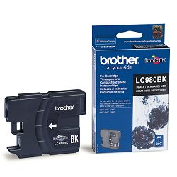 BROTHER LC-980 LC980 BLACK ORGINALNA TINTA