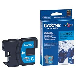 BROTHER LC-980 LC980 CYAN ORGINALNA TINTA