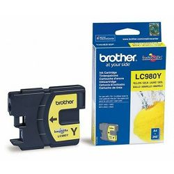 BROTHER LC-980 LC980 YELLOW ORGINALNA TINTA