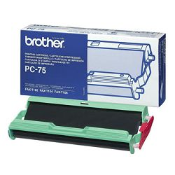 BROTHER PC75 T104106 BLACK ORIGINALNI RIBBON