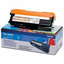 BROTHER TN-320 TN320 CYAN ORGINALNI TONER