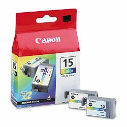 Canon BCI-15 Color 2pak Orginalna tinta